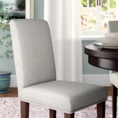 Grey Parson Chair Slipcovers Covers Malaysia For Parsons Chairs Wayfair Preston Slipcover