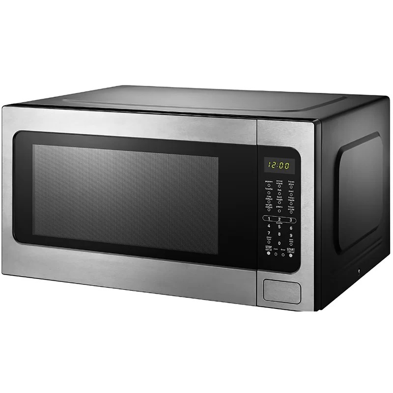 stainless steel 24 2 2 cu ft countertop microwave with sensor cooking