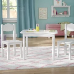 Table And Chairs With Bench Macy Recliners Kids You Ll Love Wayfair Matilda 3 Piece Chair Set