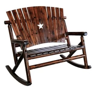 double rocking adirondack chair plans gaming chairs for small rooms wayfair ardoin star