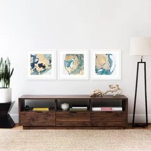 modern framed wall art