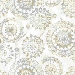 """Iliana Bohemian 16.5' L x 20.5"""" W Floral and Botanical Peel and Stick Wallpaper Roll"""