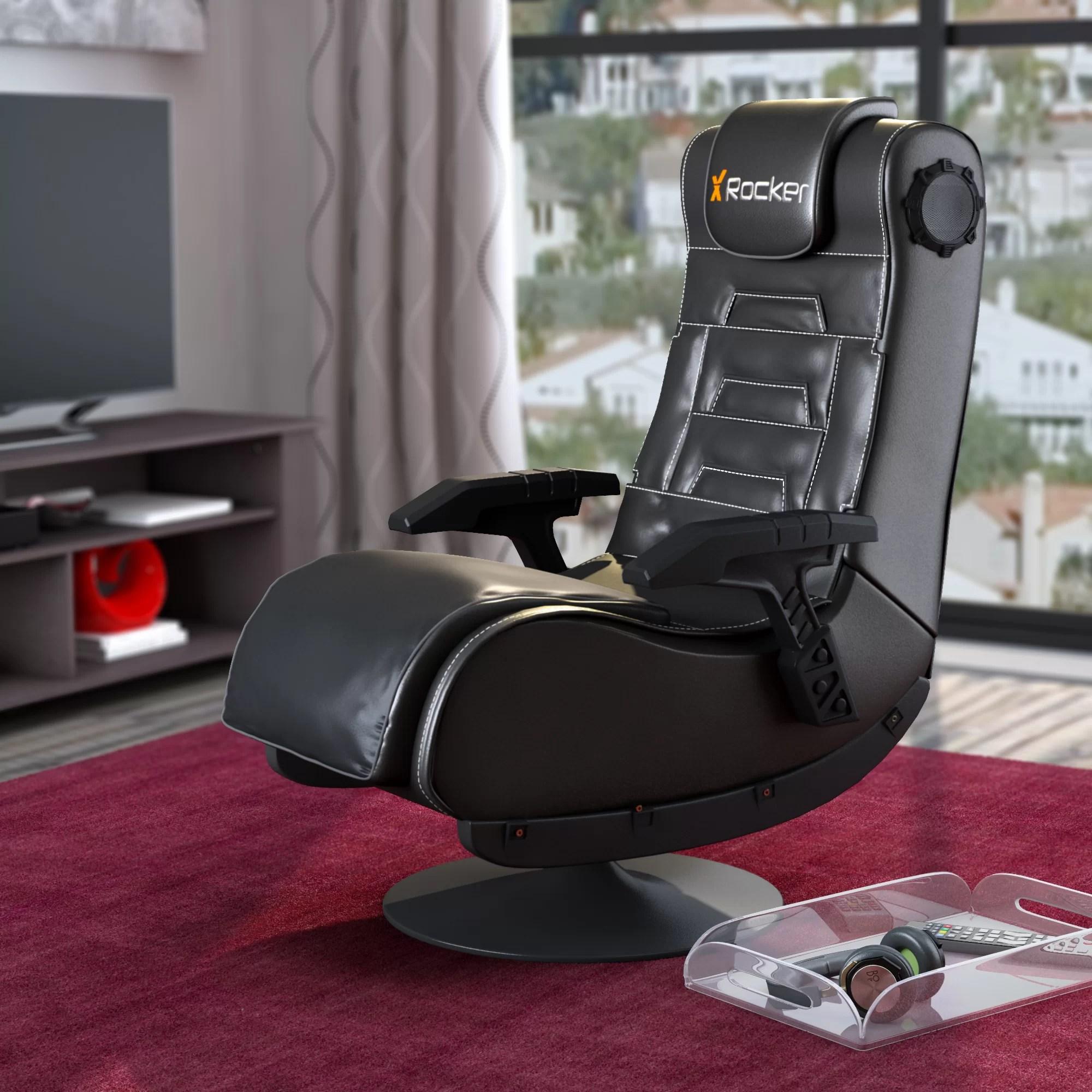 gaming lounge chair eames uk replica floor wayfair