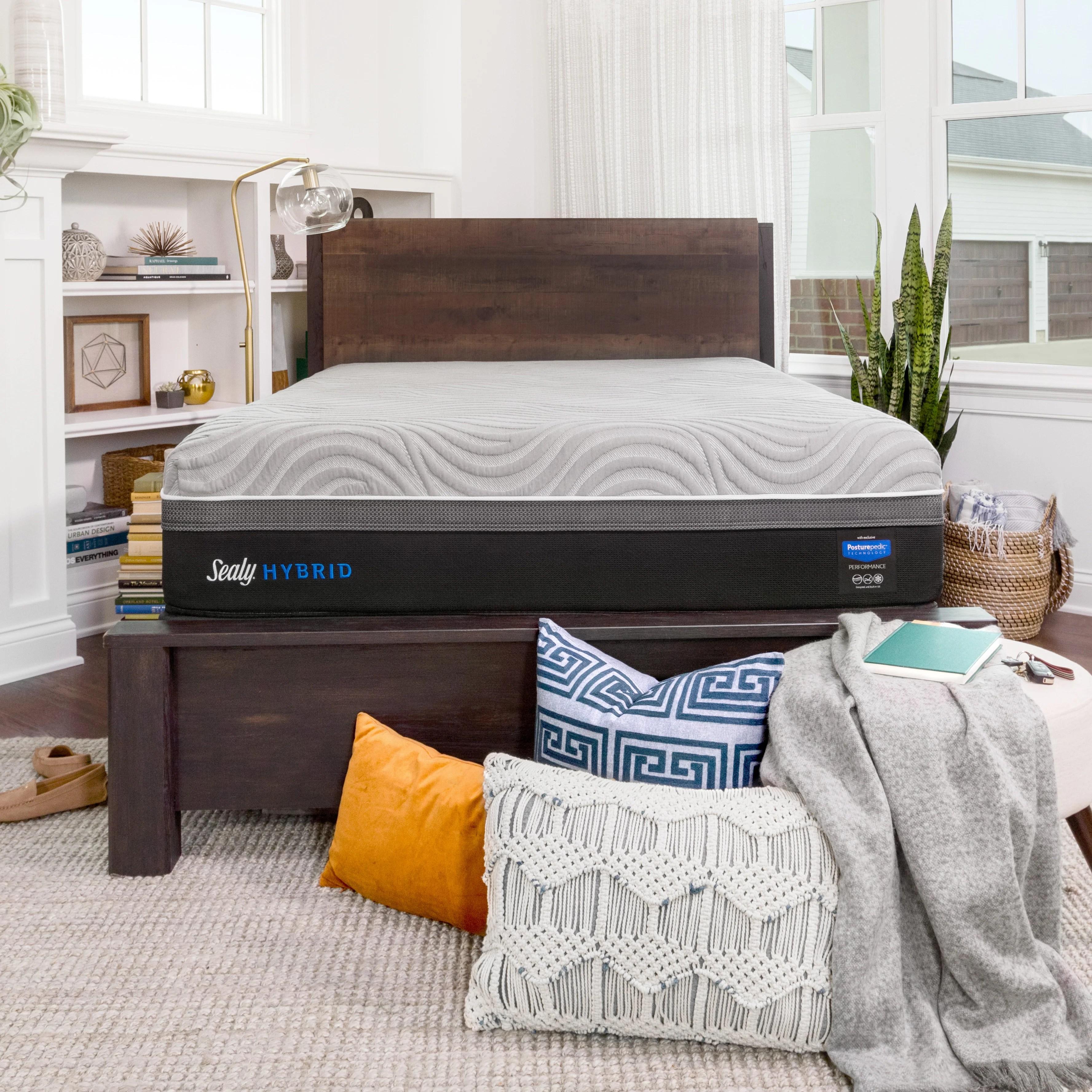 sealy hybrid performance copper ii 13 5 plush hybrid mattress reviews wayfair