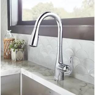moen kitchen hape play faucets you ll love wayfair quickview