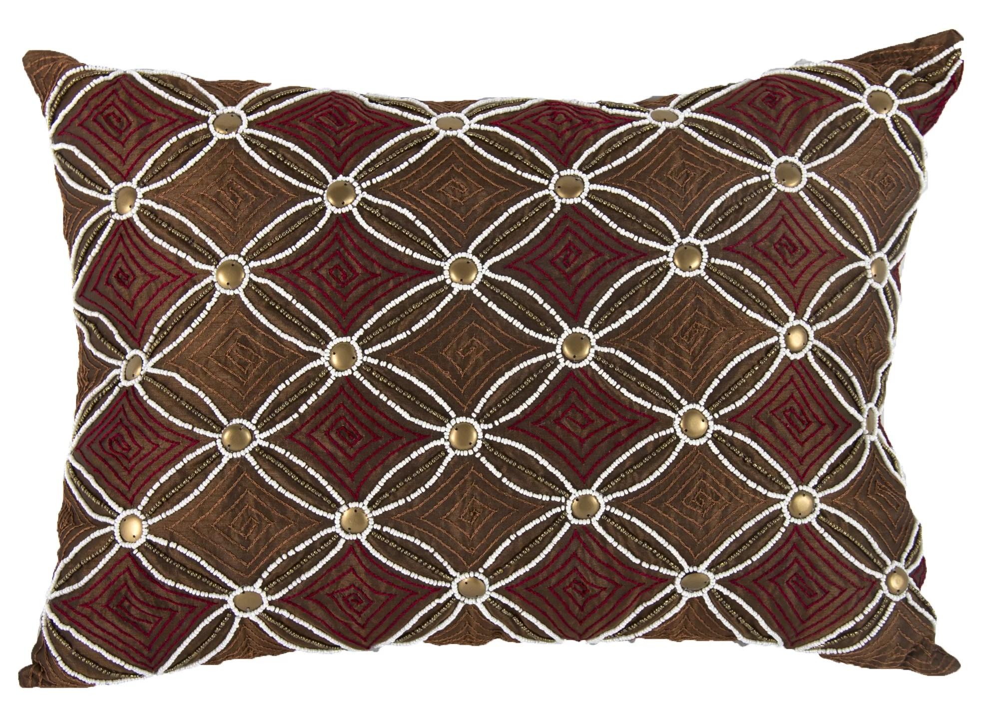 braedon embellished lumbar pillow