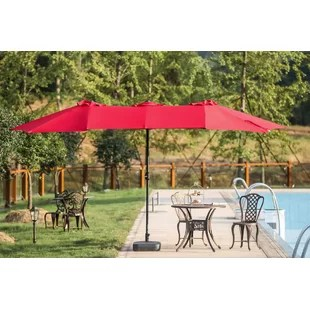 chair king umbrellas rent covers for wedding cheap 13 5 foot above patio you ll love wayfair quickview