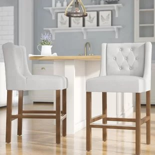 kitchen counter stools how to build a island with cabinets set of 3 wayfair quickview