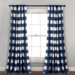 Blue Check Plaid Curtains Drapes Free Shipping Over 35 Wayfair