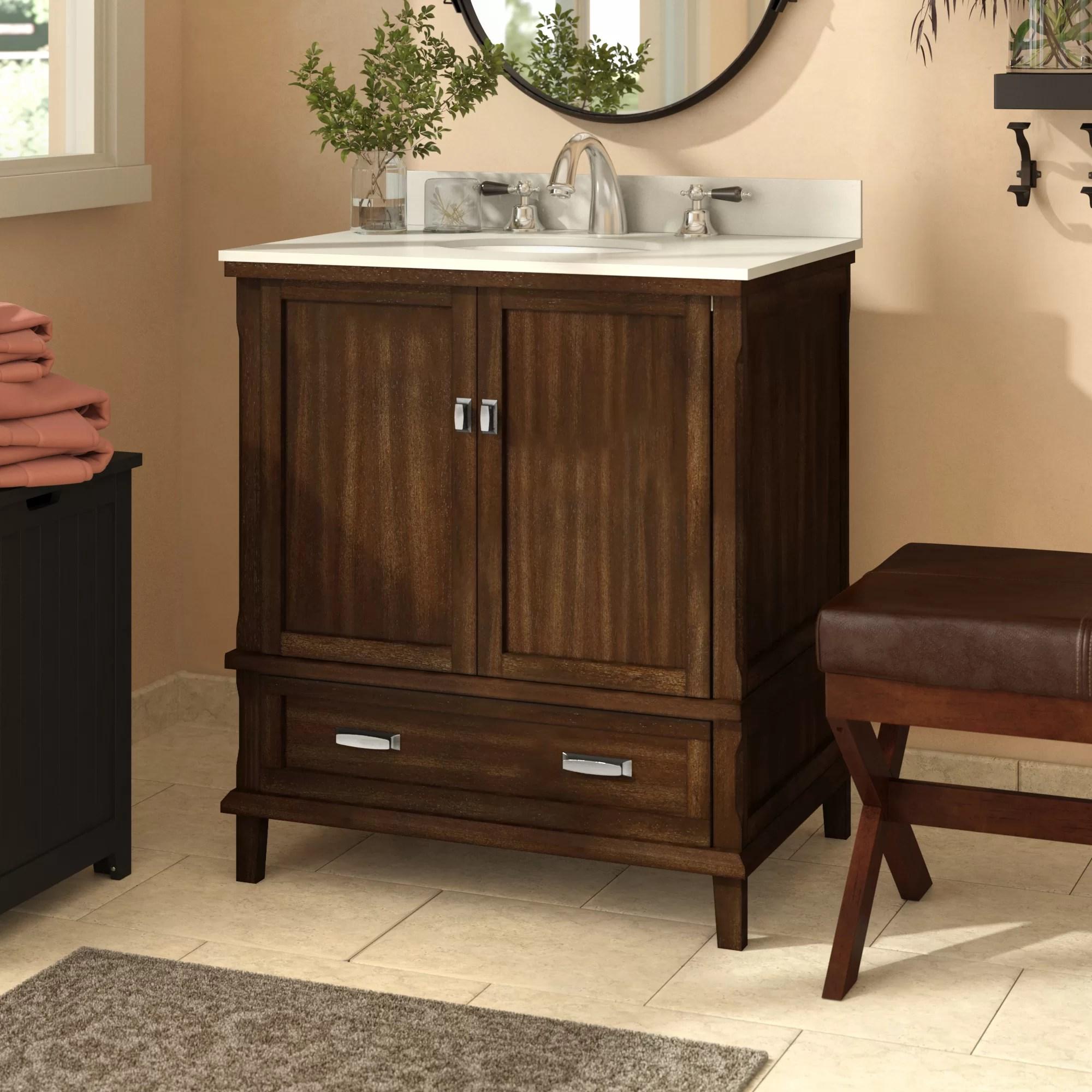 Red Barrel Studio Ka 30 Single Bathroom Vanity Set Reviews Wayfair
