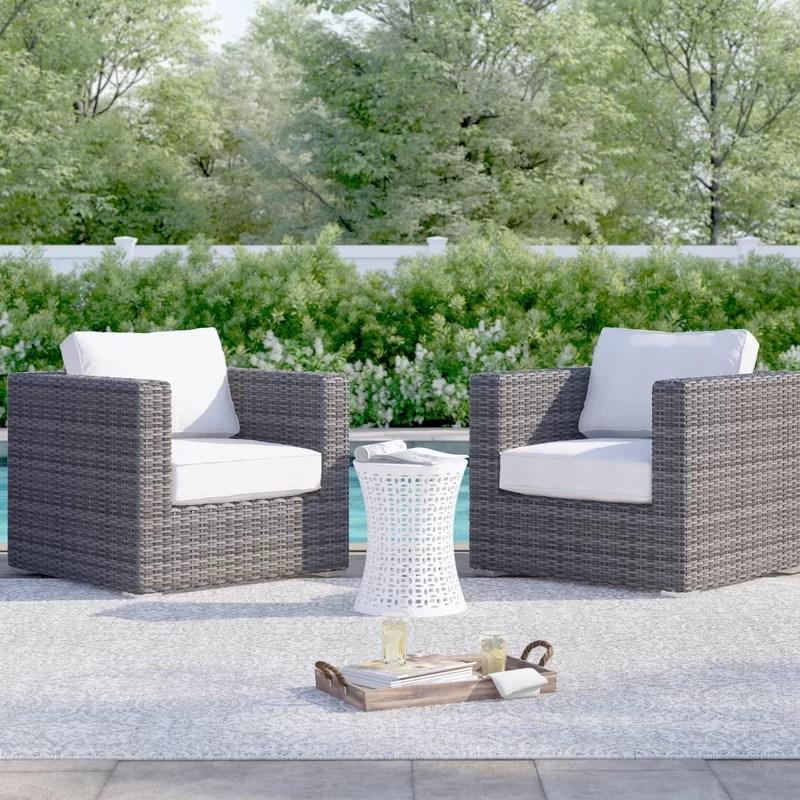eldora patio chair with cushions