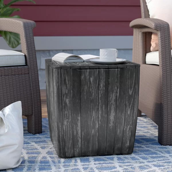 tall patio table