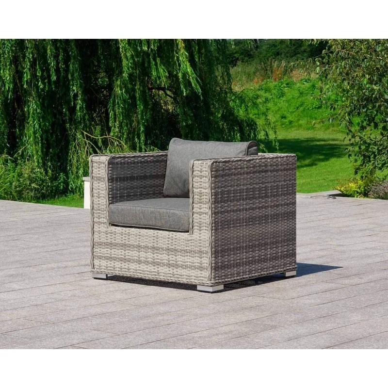 demmi lee space saving patio chair with cushions