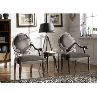 2 accent chairs and table set gio ponti chair of wayfair ca armchair