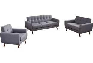 3 piece black leather living room set coastal decor rooms modern contemporary allmodern quickview