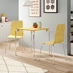 small table and chairs herman miller leather chair wayfair co uk quickview