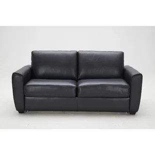 leather chair bed sleeper swing desk american sofa wayfair ventura
