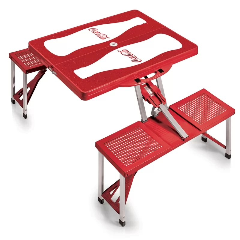coca cola chairs and tables office staples oniva picnic table wayfair