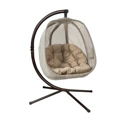Egg Chair Swing Brown Covers Flowerhouse With Stand Reviews Wayfair