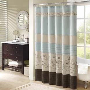 ellari floral single shower curtain