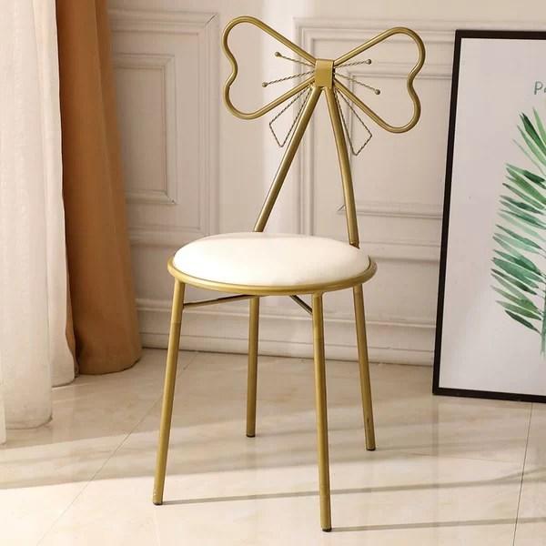 fluffy vanity chair