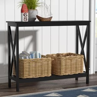 sofa tables for living room blue set console and entryway you ll love wayfair quickview
