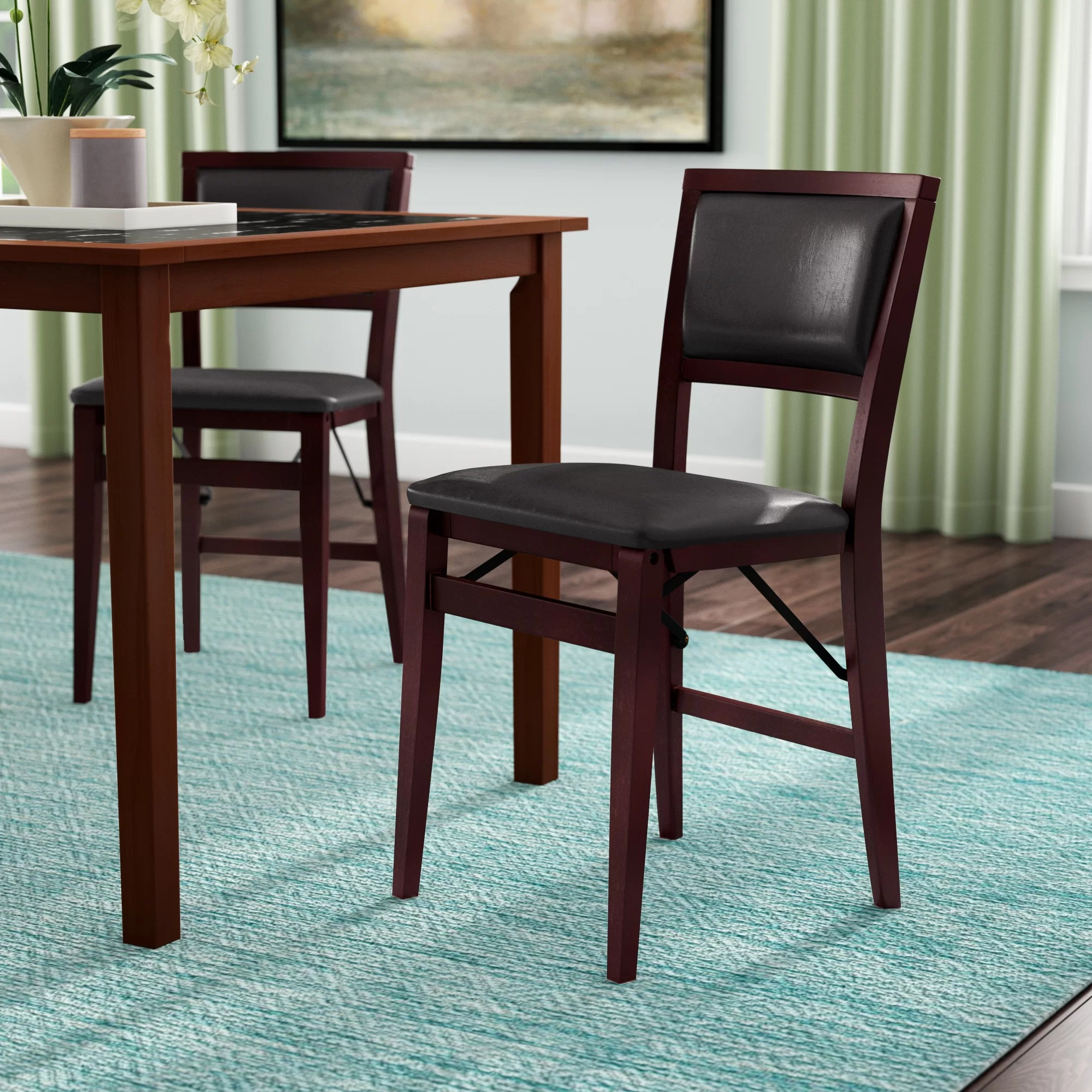 Red Upholstered Dining Chairs Busse Upholstered Dining Chair
