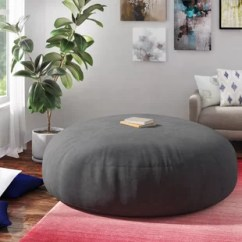 Living Room Bean Bags Interior Design For With Open Kitchen Oversized Bag Chairs You Ll Love Wayfair Quickview