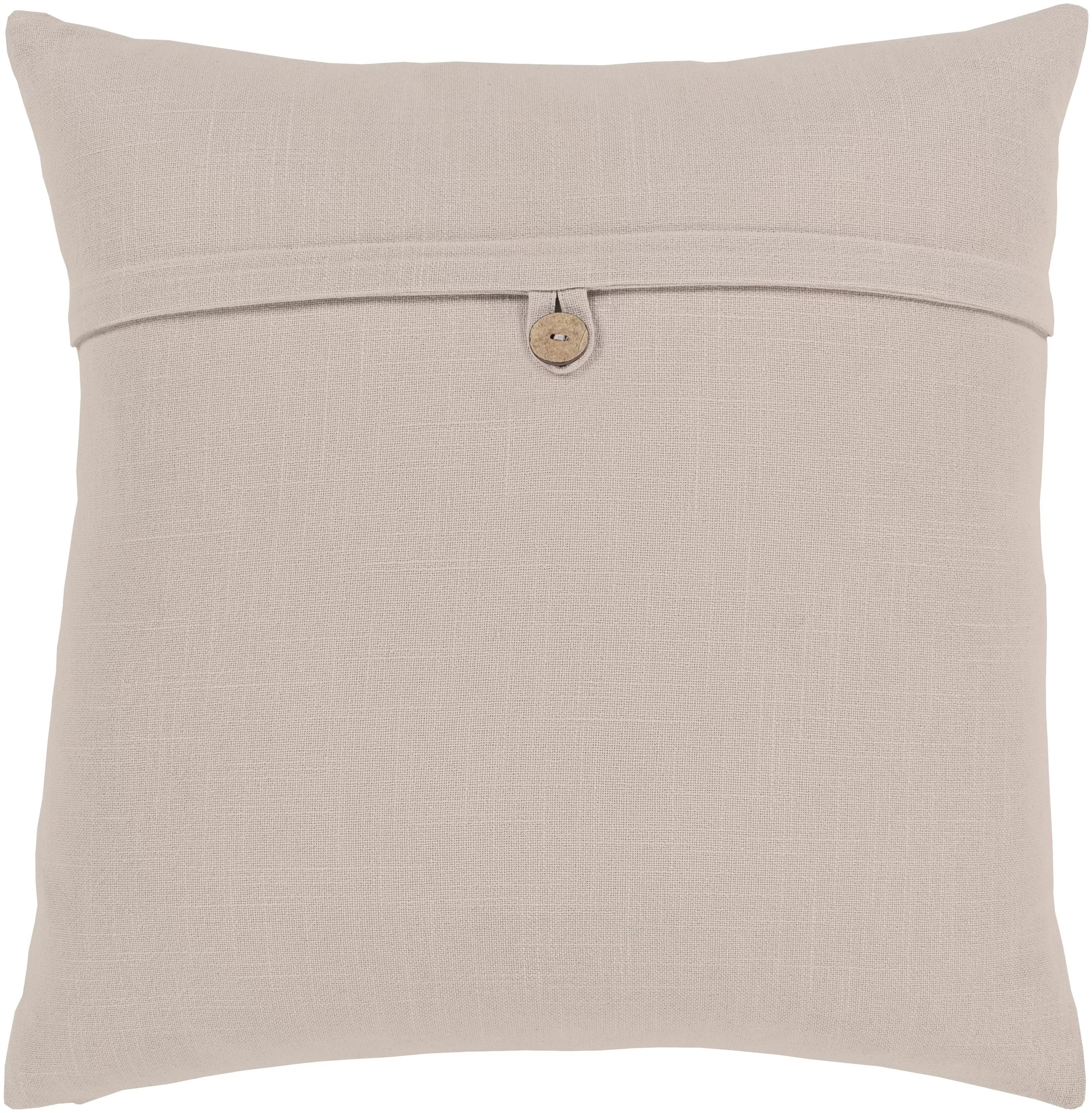 ivory cream pillow cover throw