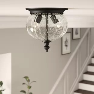 kellam 2 light 10 simple globe flush mount