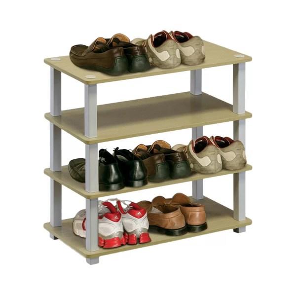 Rebrilliant 4-tier Shoe Rack &