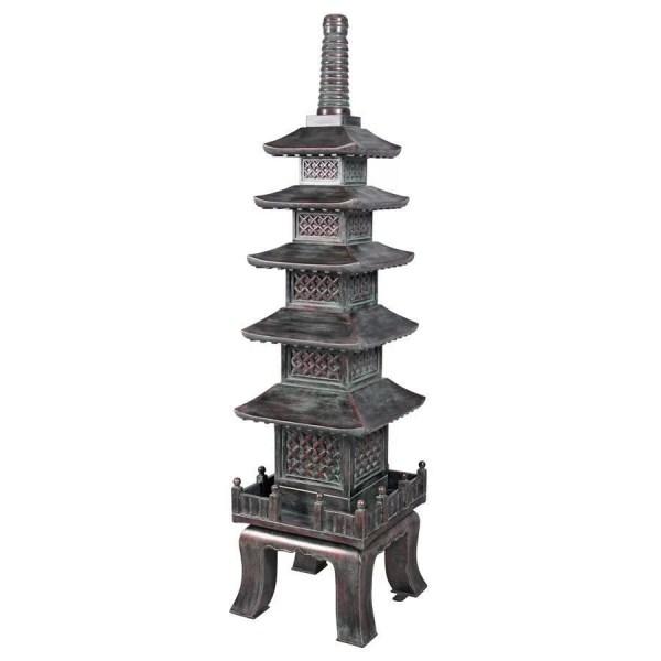 Design Toscano Nara Temple Asian Garden Pagoda Statue