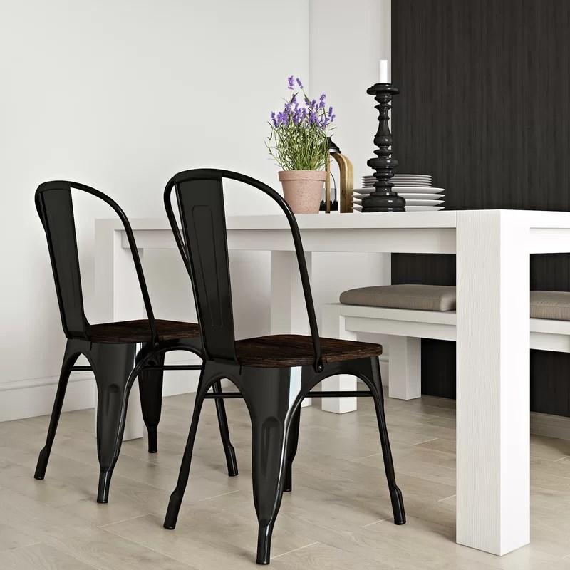Fortuna Slat Back Dining Chair (Set of 2)