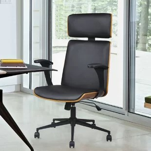desk chair swivel no wheels target bean bag chairs toddler without you ll love wayfair brickey task