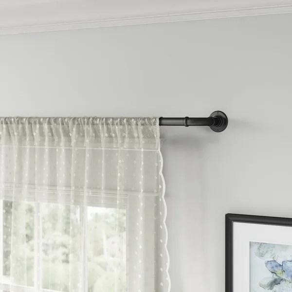 blackout curtain rod