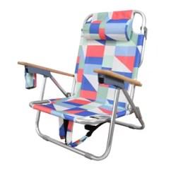 Reclining Beach Chair With Footrest How To Make Bean Bag Patterns High Seat Chairs Wayfair Regalado Cushion