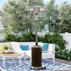 mosaic propane patio heater wayfair