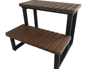 Pre Made Outdoor Steps Wayfair   Premade Steps For Outside   Handrail   Wood   Stair Railing   Deck   Wooden
