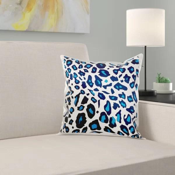 leopard print pillows wayfair