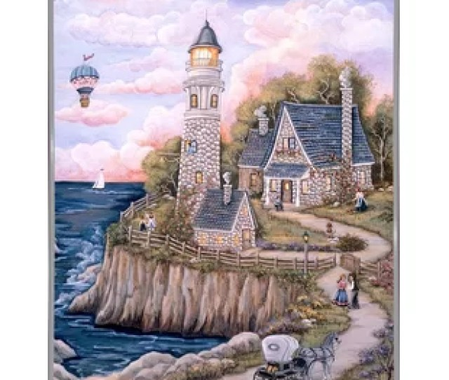 Love Lighthouse Graphic Art Print