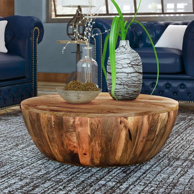 9 best wood coffee tables