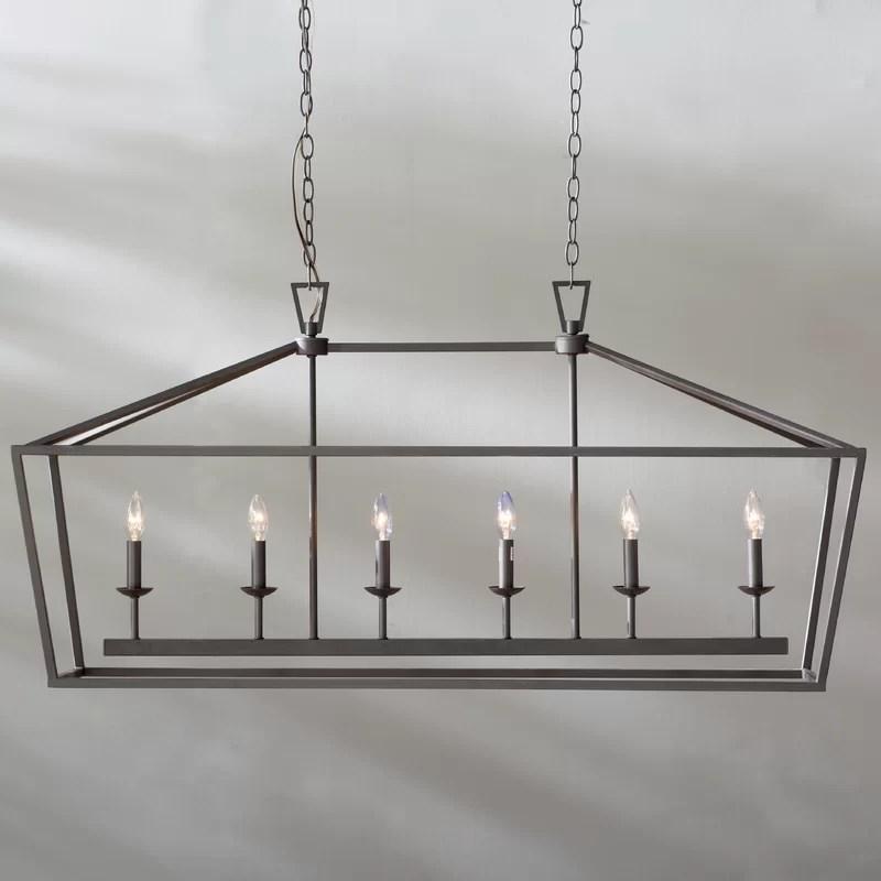 kitchen pendant light fixtures makeover sweepstakes laurel foundry modern farmhouse carmen 6 island