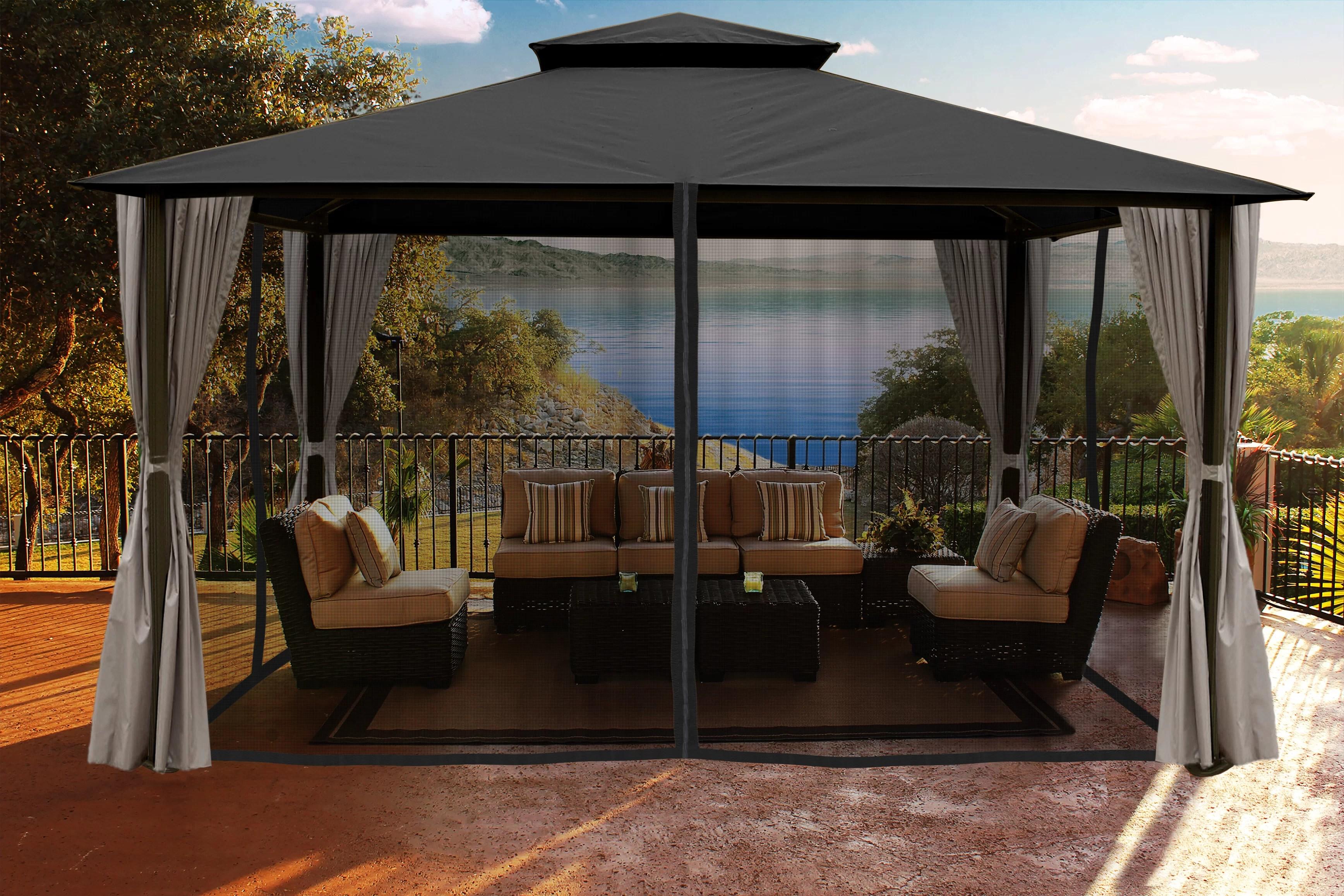 barton 10 x 14 feet outdoor hardtop
