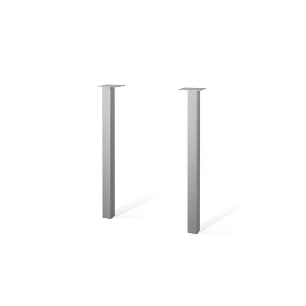 ottoman metal legs