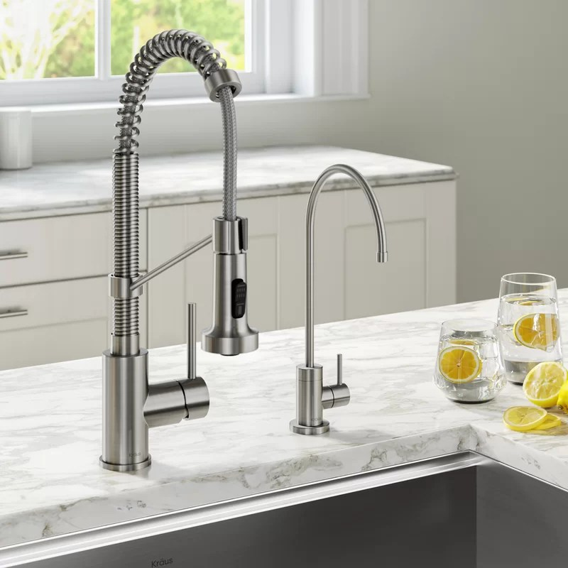 bolden filter combination pull down single handle kitchen faucet
