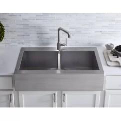 24 Kitchen Sink Copper Appliances Vault 36 L X W Double Basins Farmhouse Reviews