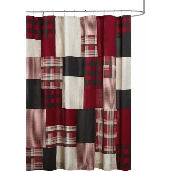 Woolrich Winter Hills 100 Cotton Single Shower Curtain &