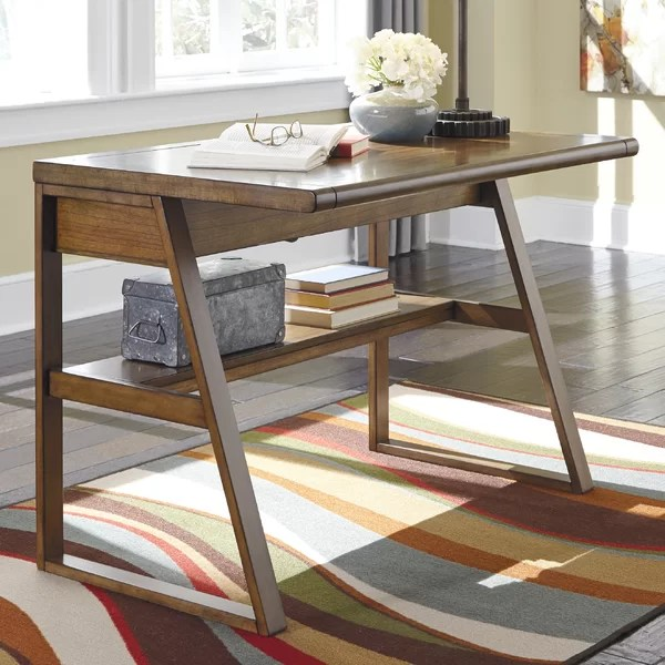 living room desk leather chairs sale desks you ll love wayfair