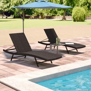 poolside lounge chairs vintage chair stand outdoor you ll love wayfair varley chaise set of 2