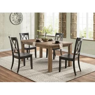 black kitchen table and chairs nautical rugs dining you ll love wayfair olde berry solid wood chair set of 2